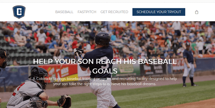 cagerat baseball - storybrand example - attraction marketing
