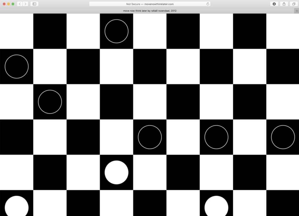 quick moving checkers